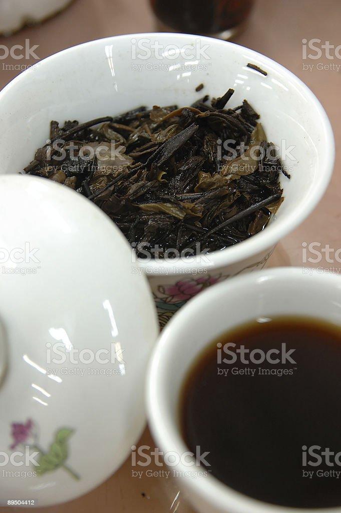 Chinese black tea royalty free stockfoto