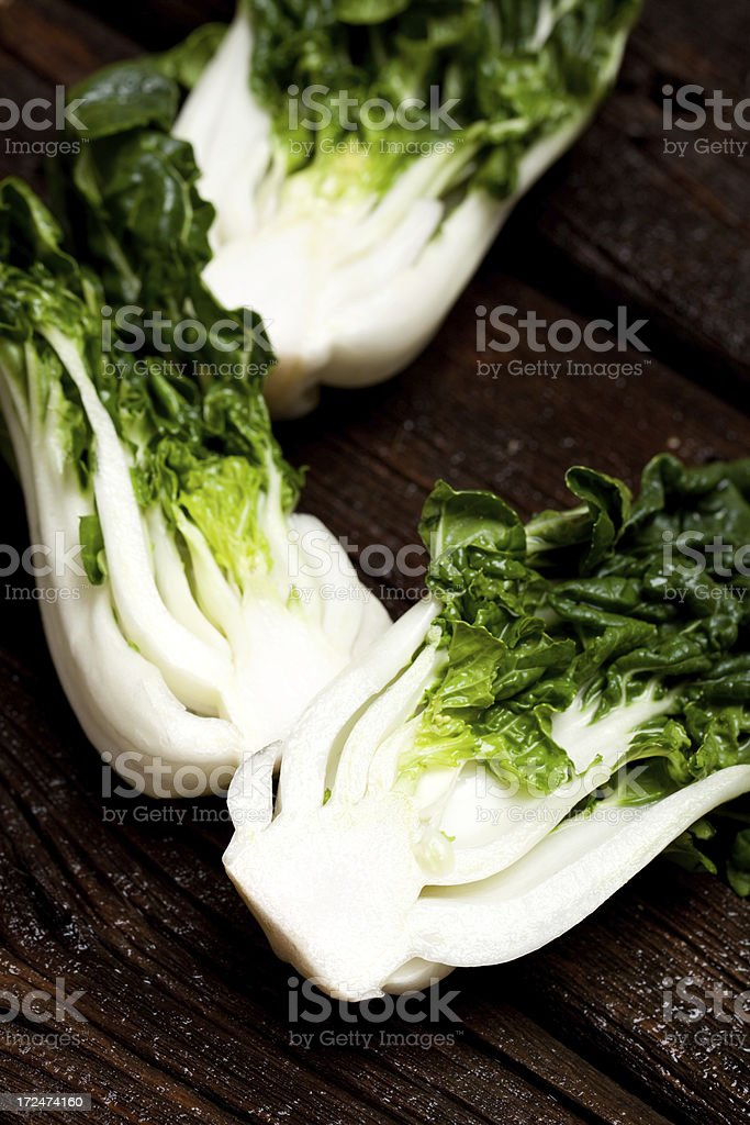Chinese Bok Choy royalty-free stock photo