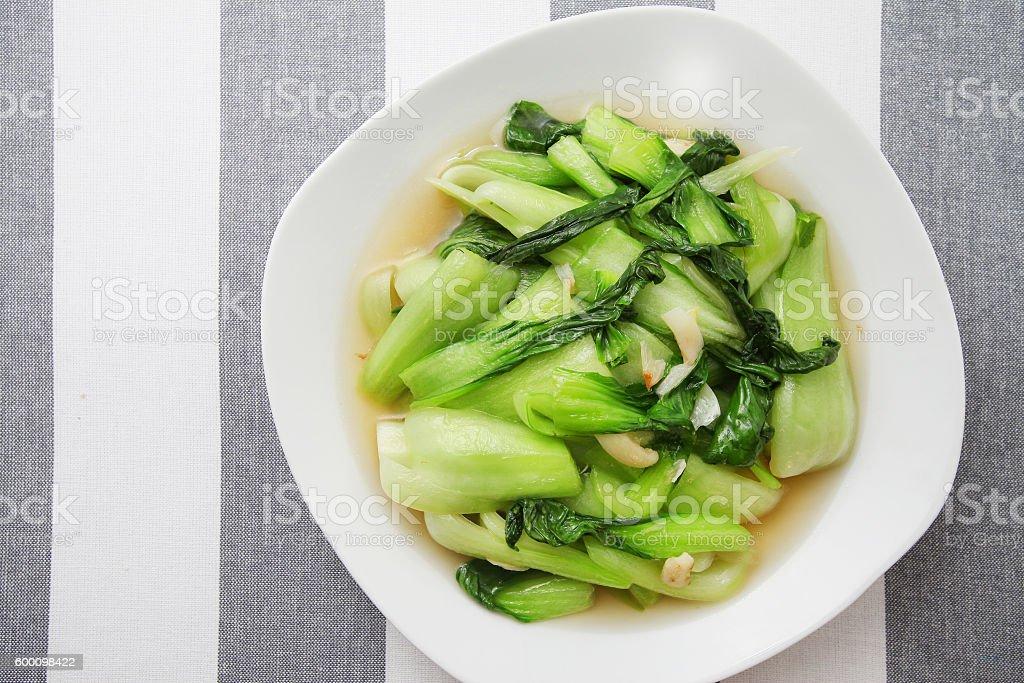 Chinese Bok Choy stock photo