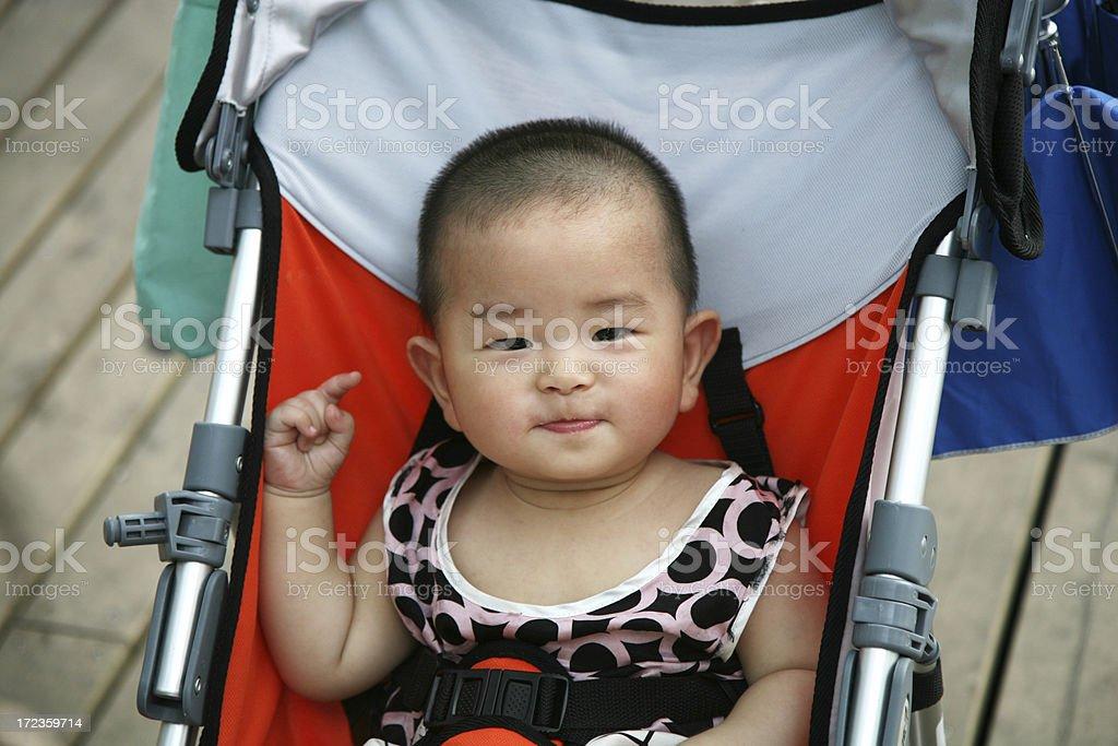 Chinese boy royalty-free stock photo