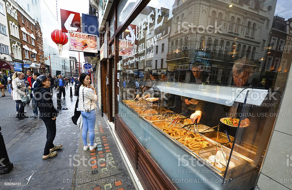 Super Chinese Buffet In Chinatown Soho London Stock Photo Download Free Architecture Designs Jebrpmadebymaigaardcom