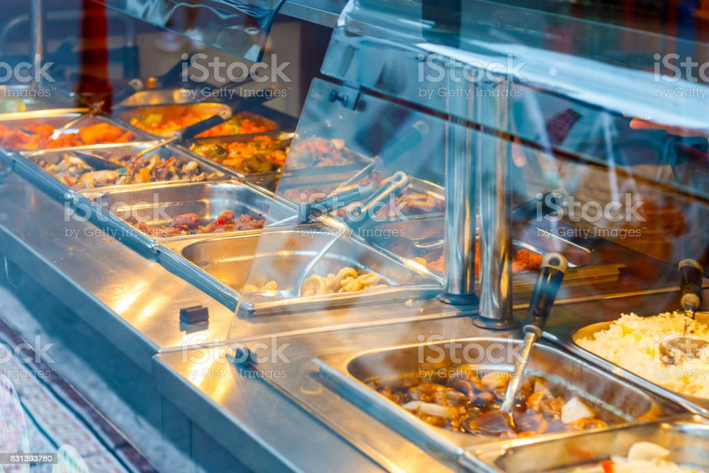 Fantastic Chinese Buffet Restaurant In London Chinatown Stock Photo Download Free Architecture Designs Jebrpmadebymaigaardcom