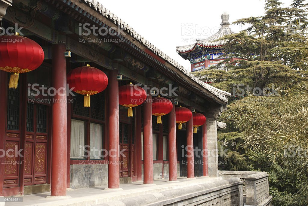 Chinese building royalty-free stock photo