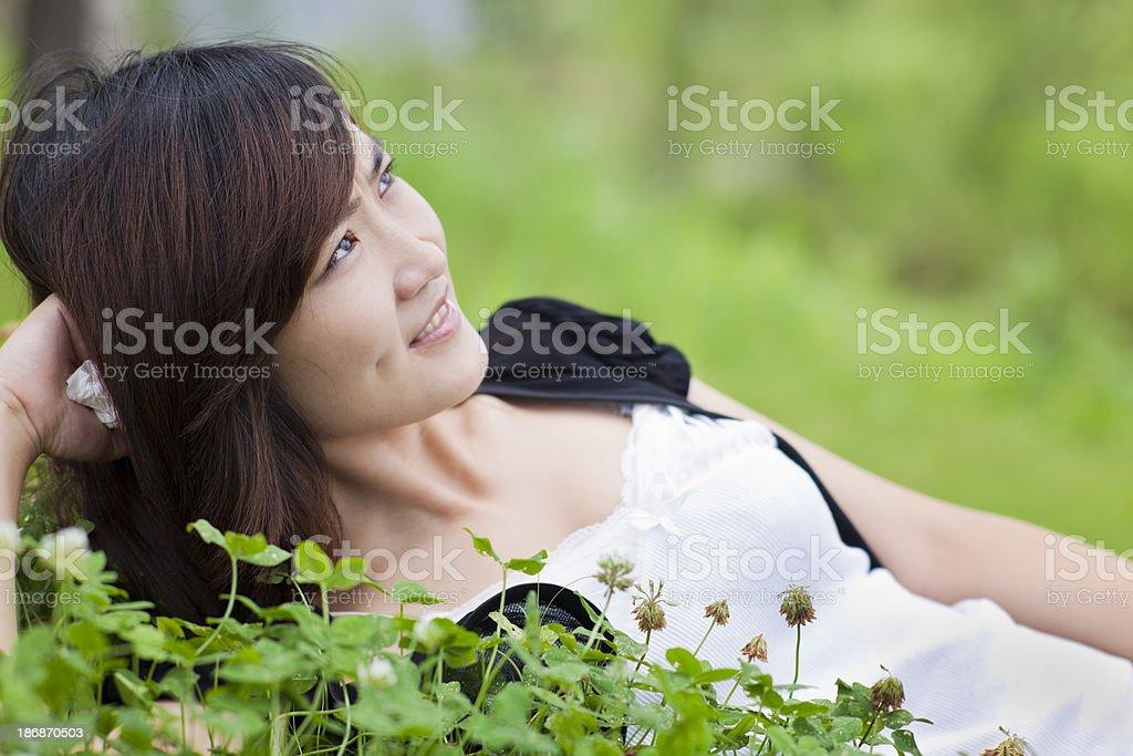 chinese buisnesswoman royalty-free stock photo