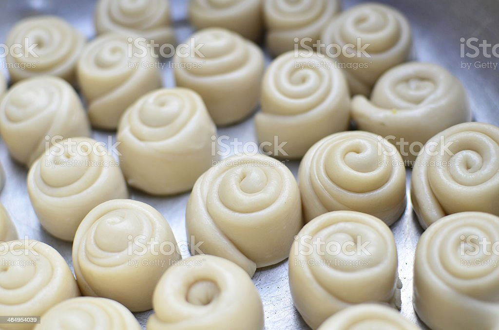 Chinese Bun Desserts stock photo