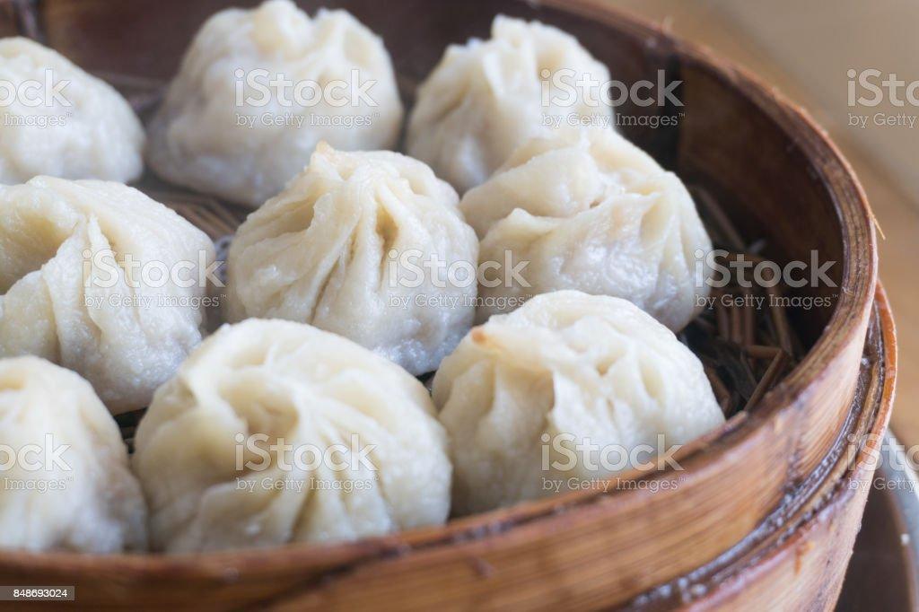 Chinese bun stock photo