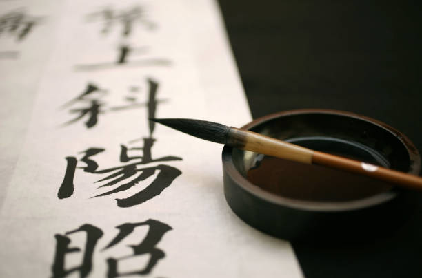 Calligraphie chinoise - Photo