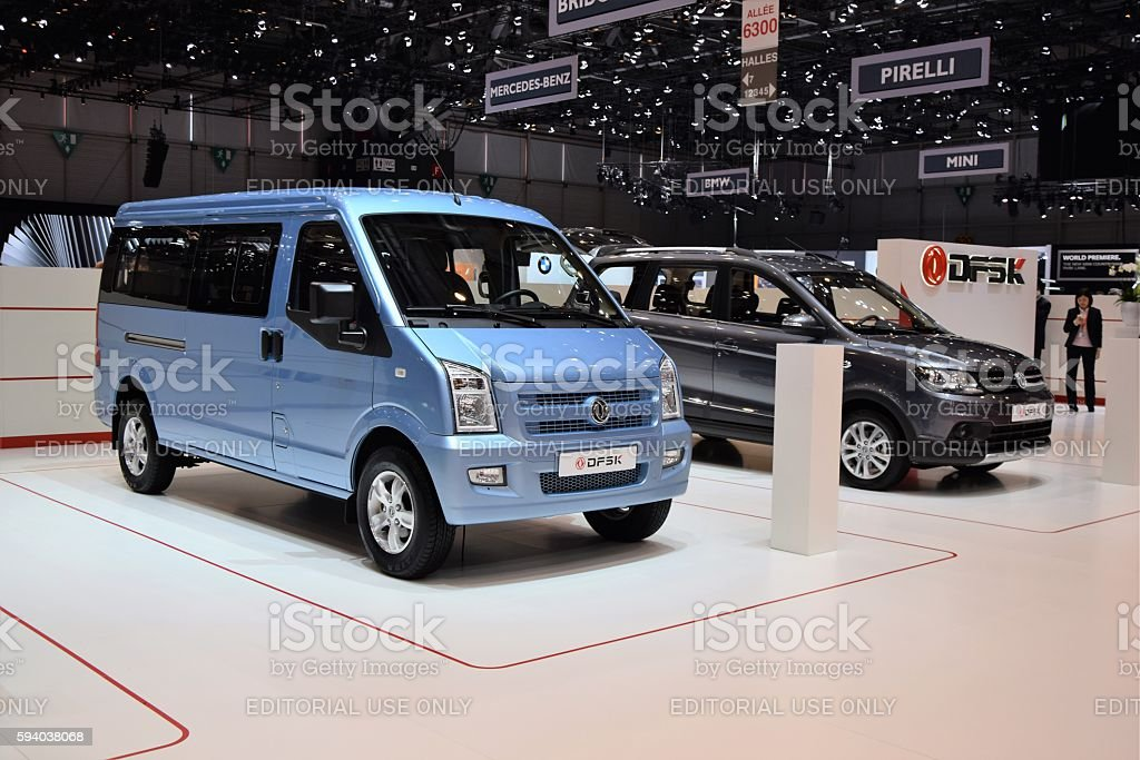 DFSK - Chinese cars on the motor show stock photo