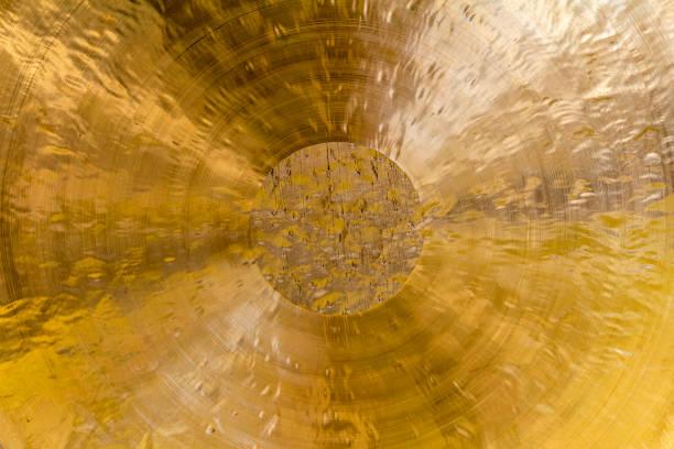 chinese chau gong closeup stock photo