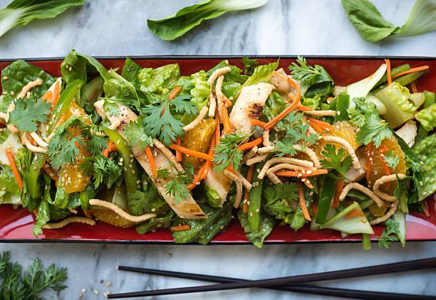 Chinese Chicken Salad stock photo
