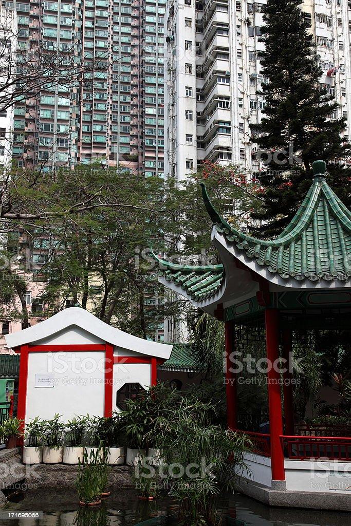 Chinese city park royalty-free stock photo