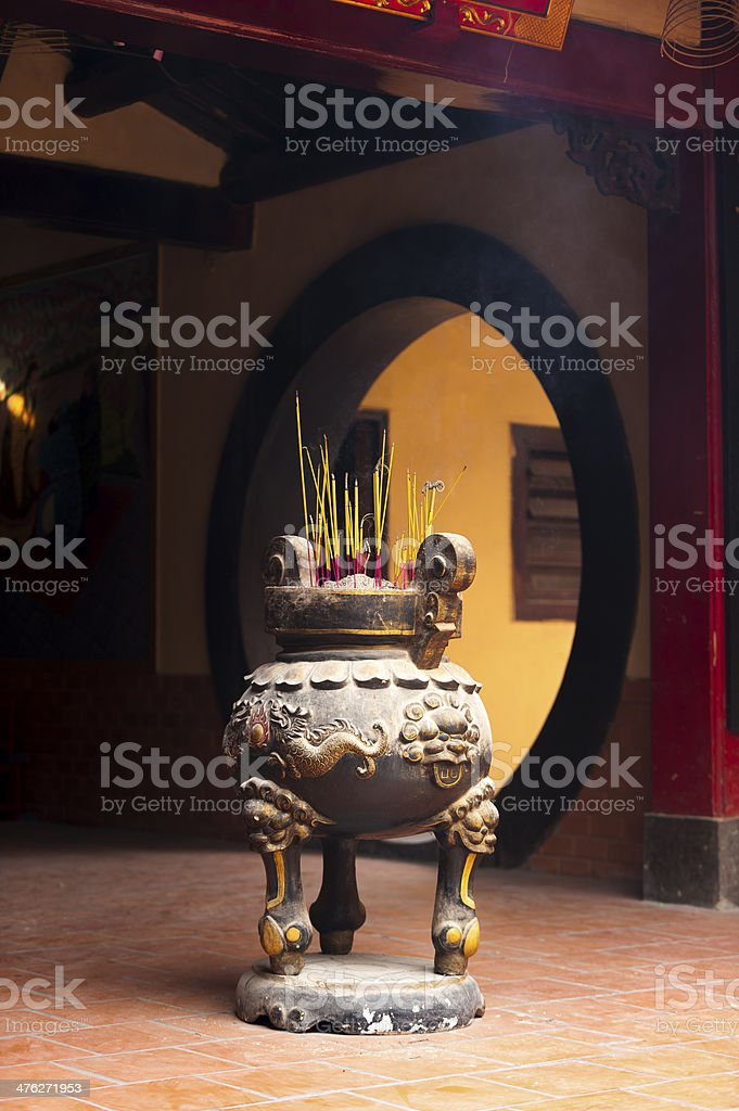 Chinese Classic Incense Burner royalty-free stock photo