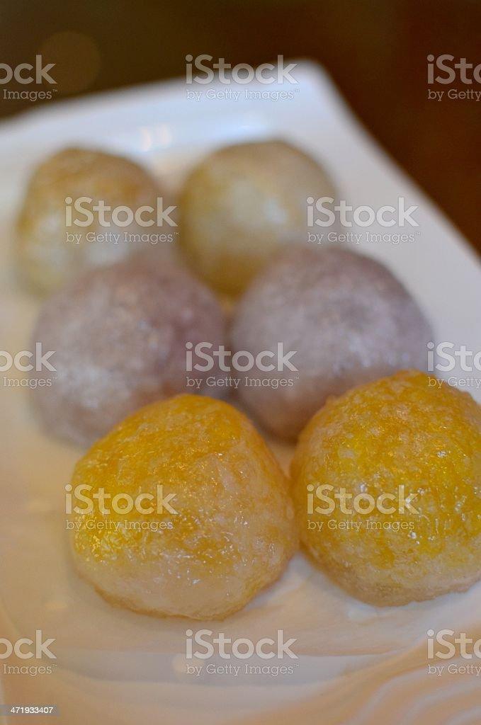 Chinese crystal bun royalty-free stock photo