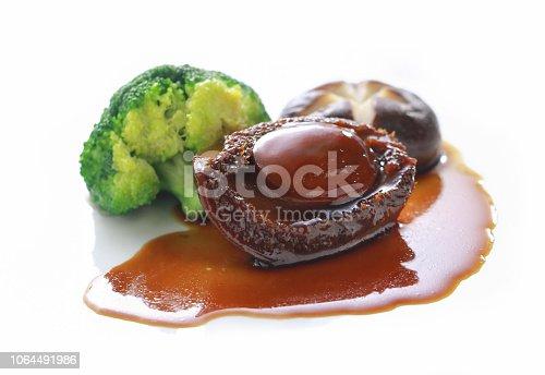 istock Chinese cuisine abalone with mushroom 1064491986