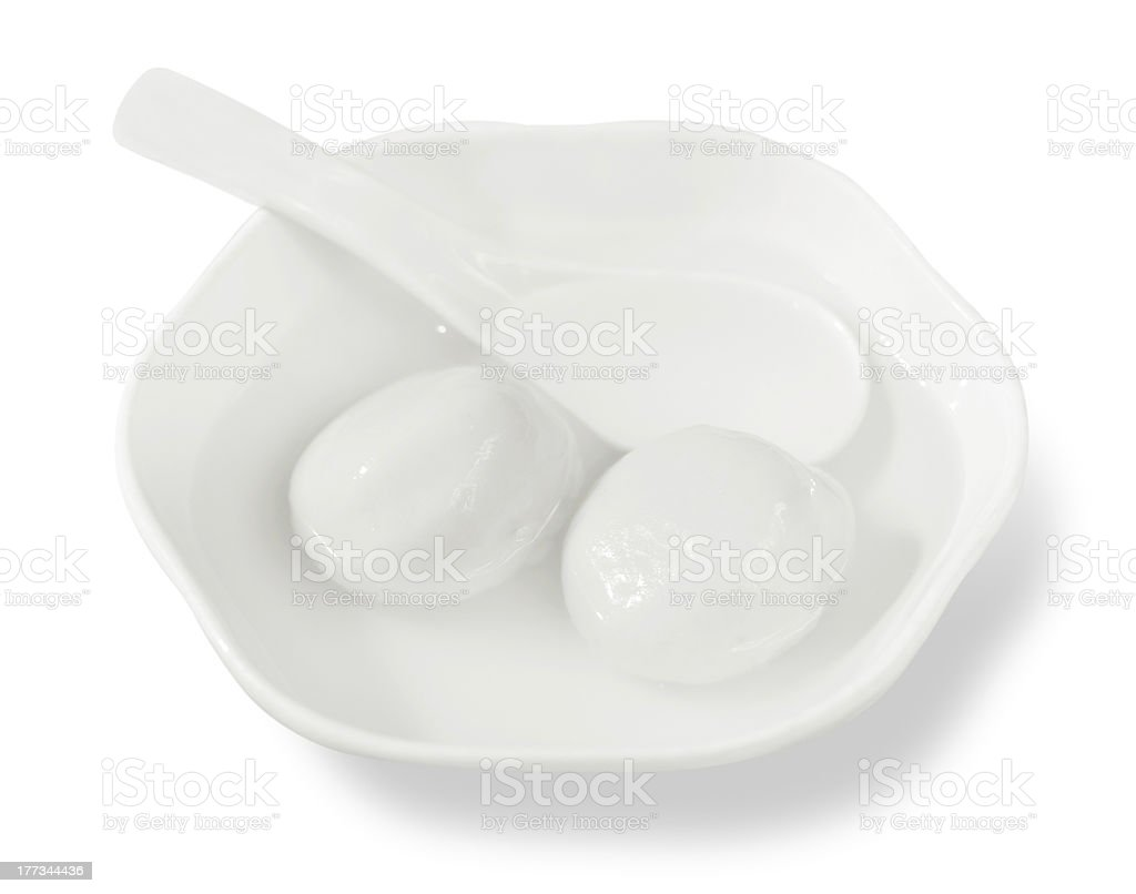 Chinese Cuisine-Sweet Dumplings stock photo