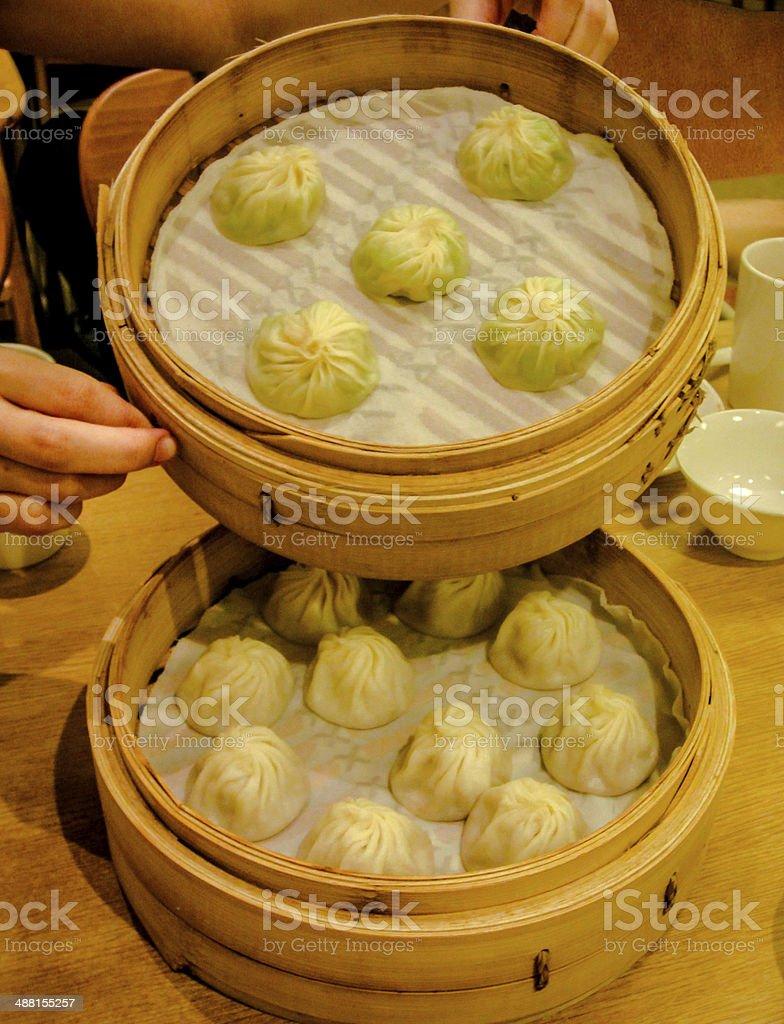 Chinese Dim Sum - Xiaolongbao stock photo