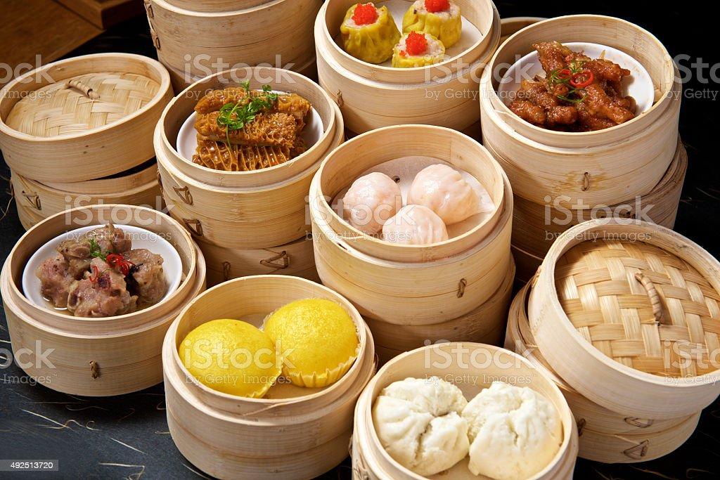Chinese Dimsum Set stock photo