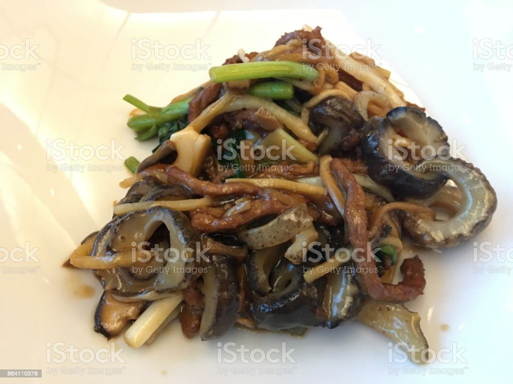 Chinese dish in Seoul royalty-free stock photo