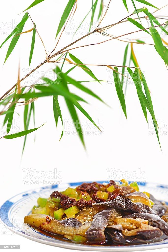 Chinese dish stock photo