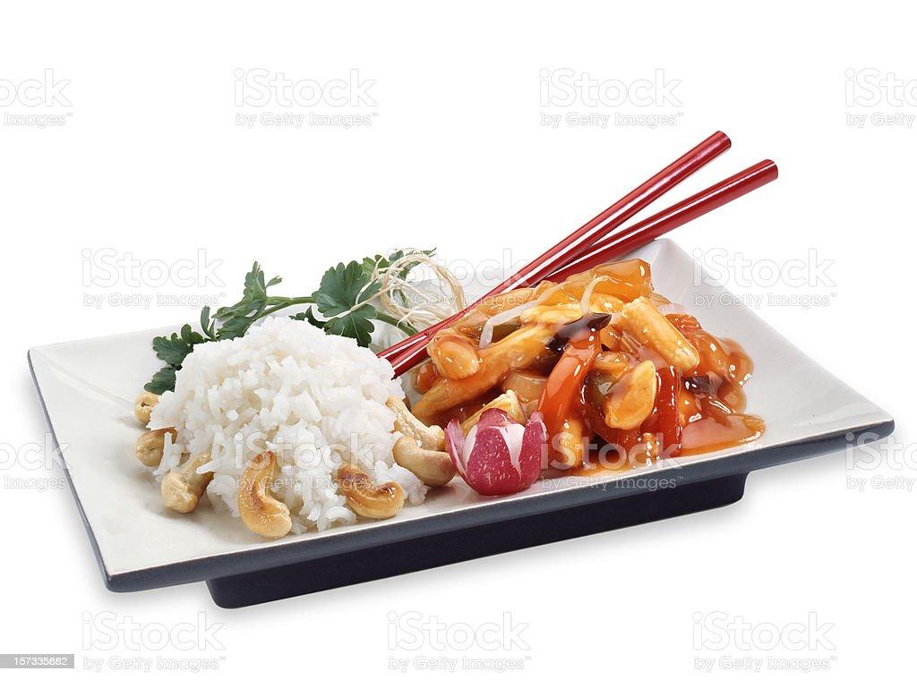 Chinese dish royalty-free stock photo
