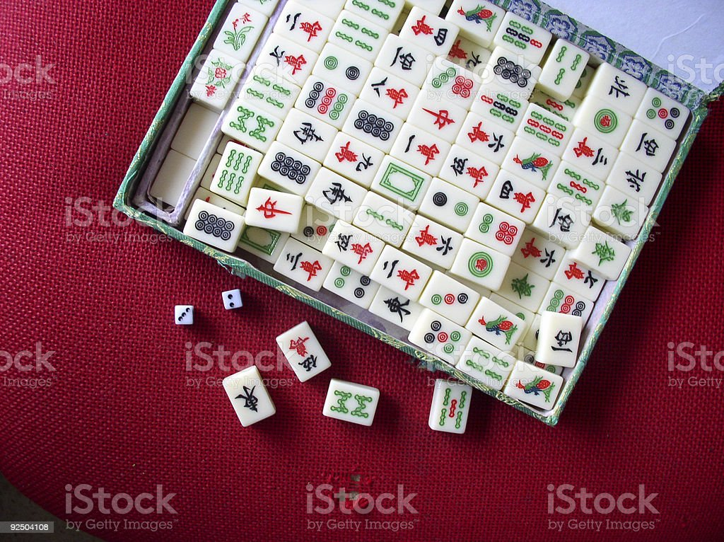Chinese Domino Game Mahjong Stock Photo Download Image Now
