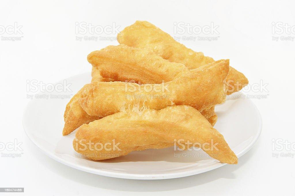 Chinese doughnut or You Tiao royalty-free stock photo