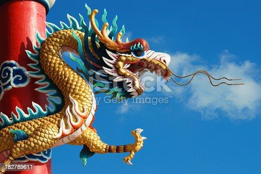 Chinese dragon symbol.