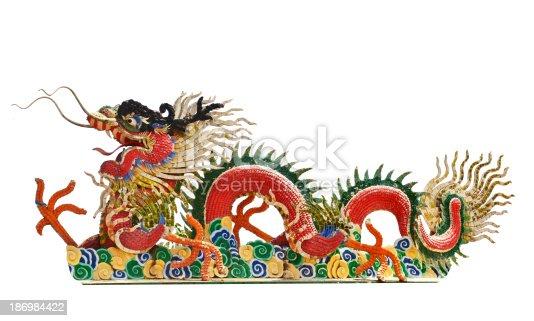 istock Chinese dragon 186984422