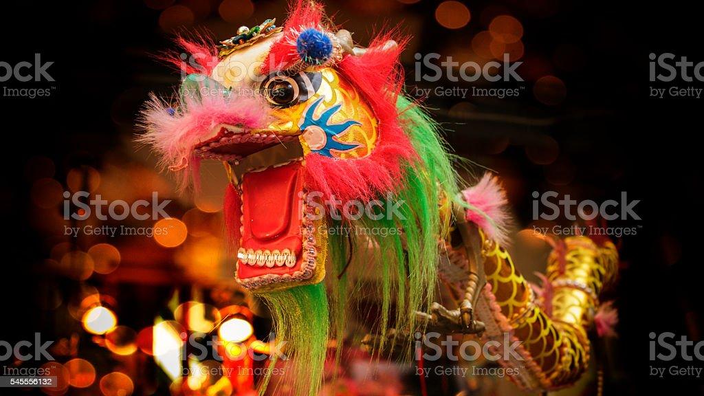 中国の竜ます。 ストックフォト
