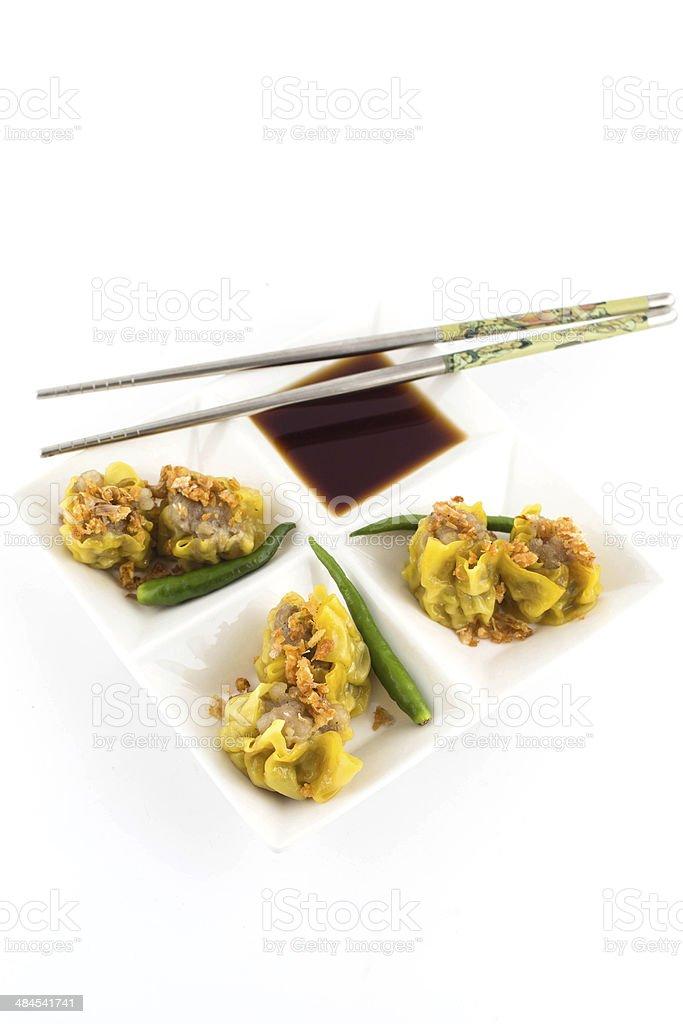 Chinese Dumpling stock photo