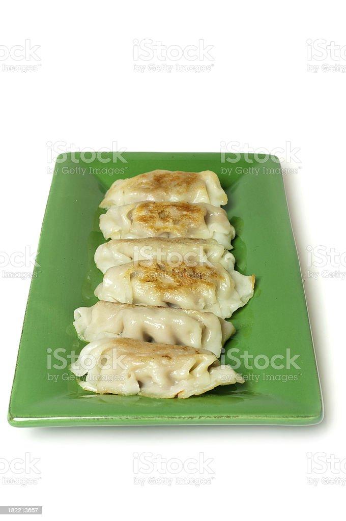 Chinese Dumplings royalty-free stock photo