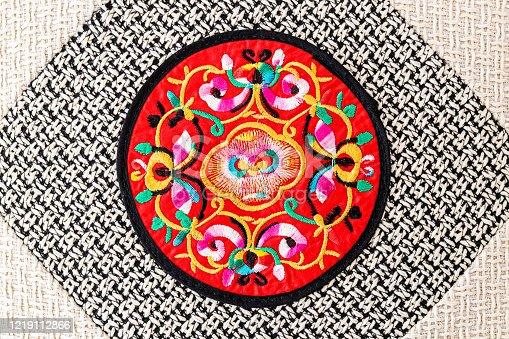 532522827 istock photo Chinese embroidery style pattern。Chinese auspicious patterns 1219112866