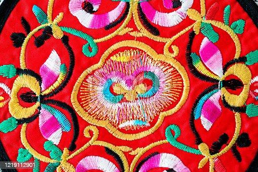 532522827 istock photo Chinese embroidery style pattern。Chinese auspicious patterns 1219112901
