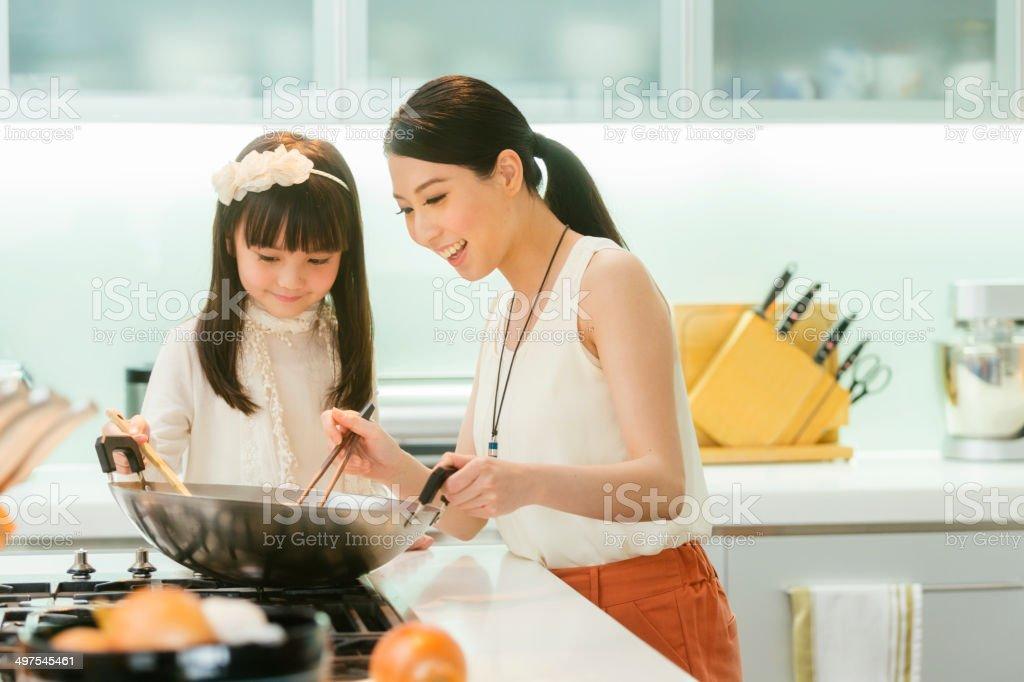 Chinese Family stock photo