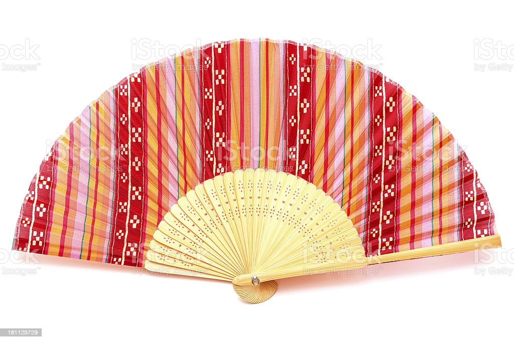 Chinese Fan royalty-free stock photo
