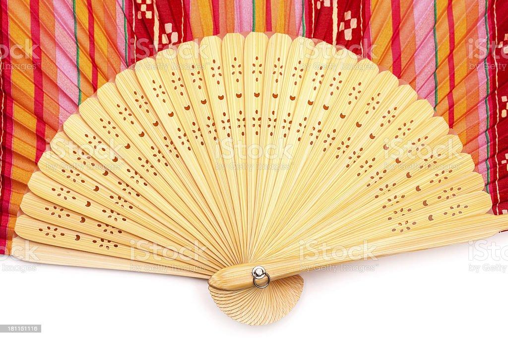 Chinese Fan royalty-free stock photo