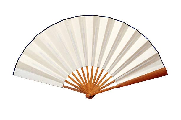 chinesischen fächer – japanische kultur-traditionelle asiatische kunst und kultur - japanischer fächer stock-fotos und bilder