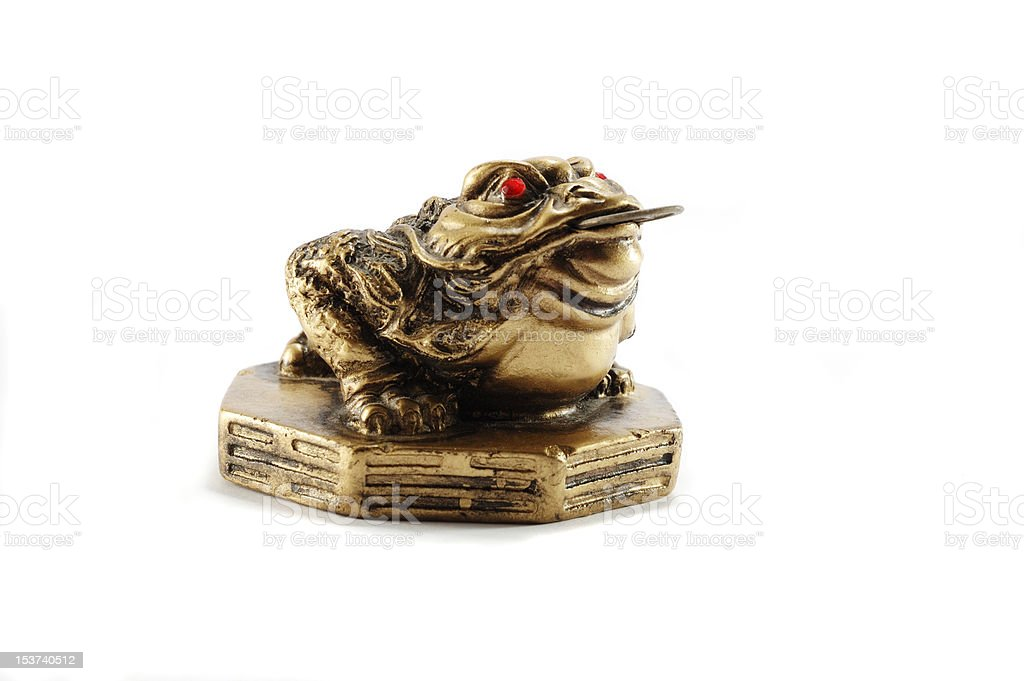 Chinese Feng Shui Money Frog Symbol Of Wealth Stock Photo More