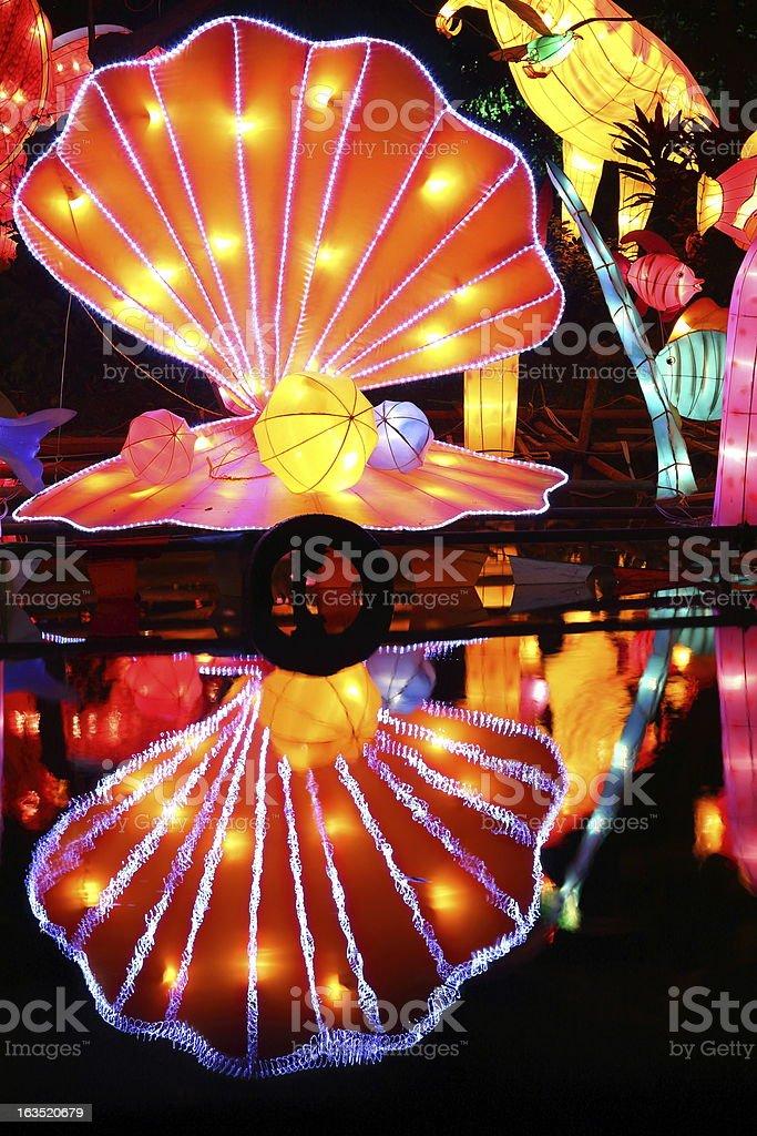 Chinese festival lantern royalty-free stock photo