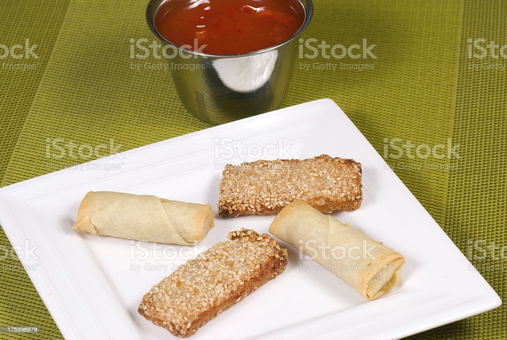 Chinese finger food royalty-free stock photo