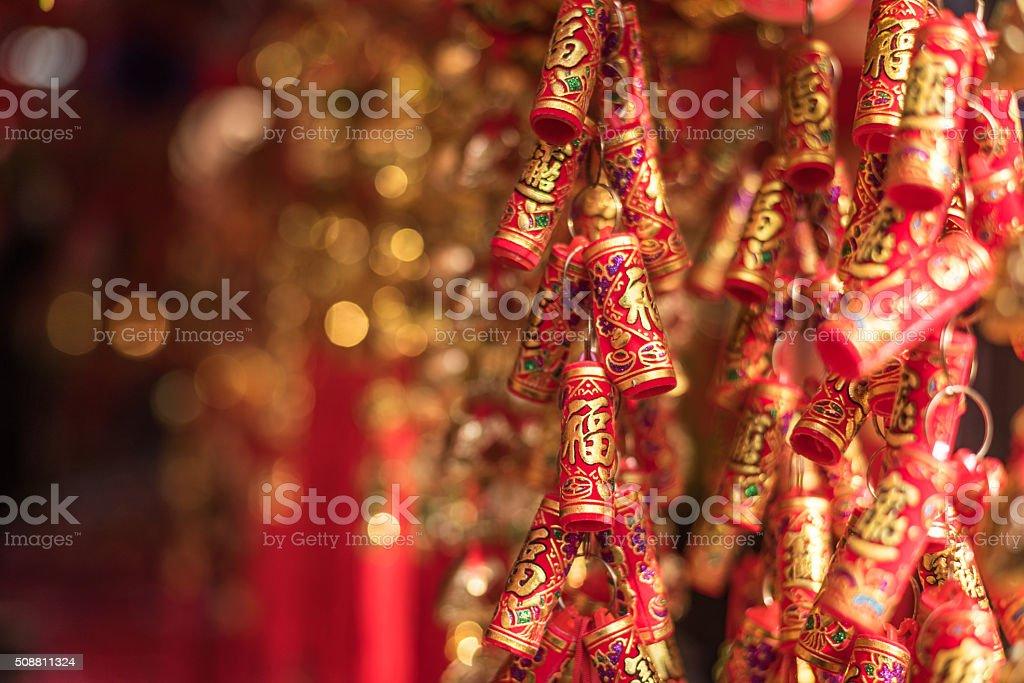Chinesische Feuer Cracker – Foto
