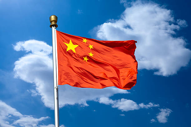 Royalty Free China Flag Pictures Images And Stock Photos IStock - China flag