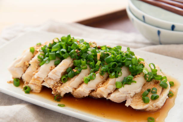 chinese food, chicken with very spicy sauce - human saliva stock pictures, royalty-free photos & images