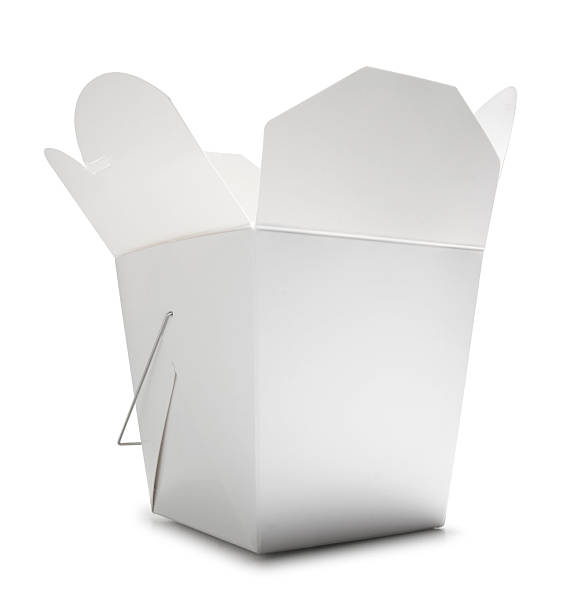 Chinese Food Container Blank Chinese food container chinese takeout stock pictures, royalty-free photos & images