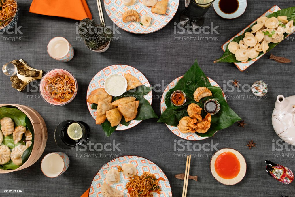 Chinese Food stock photo