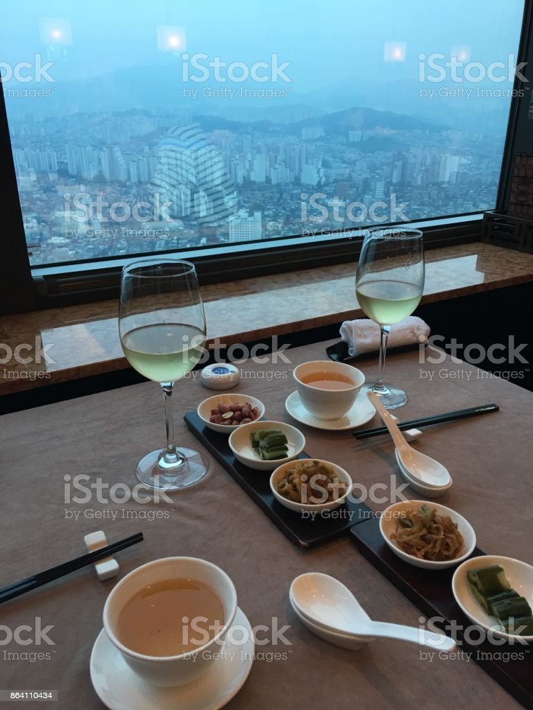 Chinese food restaurant in Seoul royalty-free stock photo