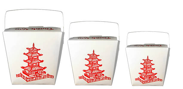 Chinese Food take out  chinese takeout stock pictures, royalty-free photos & images