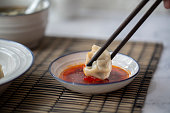 Chinese food:steamed Jiaozi