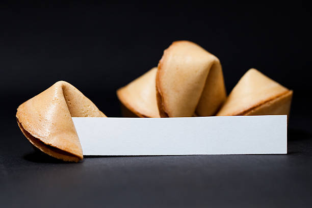 Chinese Fortune Cookie stock photo