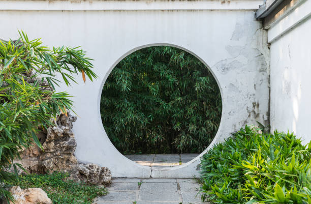 Chinese garden Chinese garden taoism stock pictures, royalty-free photos & images